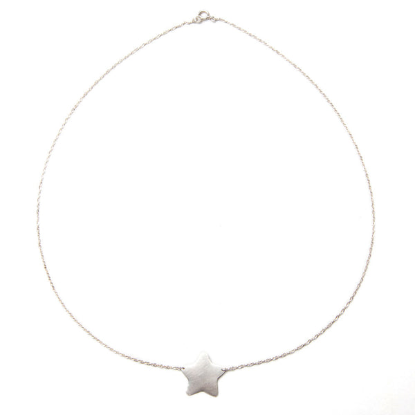 alice eden jewellery jewelry large silver star pendant necklace