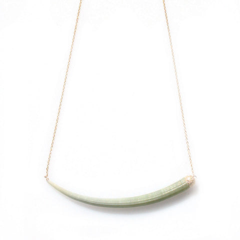 alice eden Jewellery jewelry 14ct gold filled tusk shell swing necklace