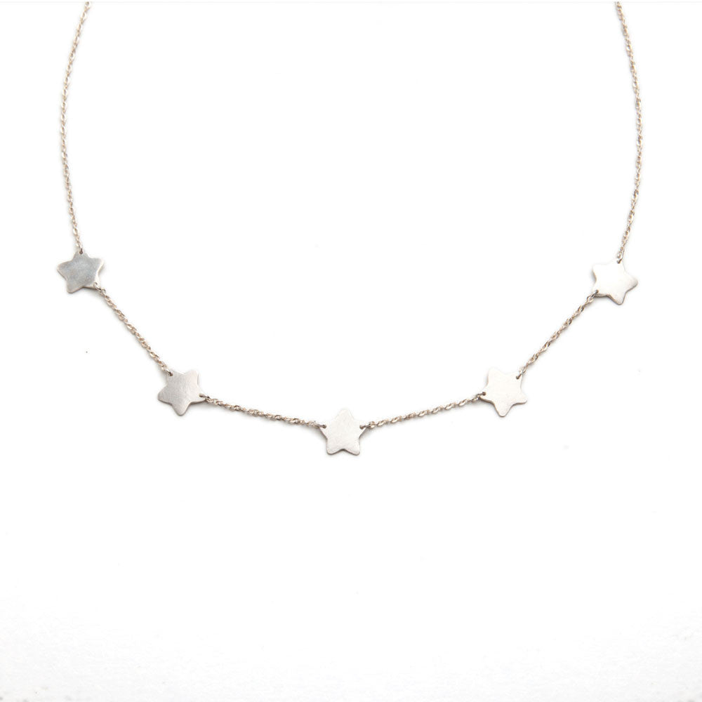 n delicate star products necklace bette rose rock pave pav