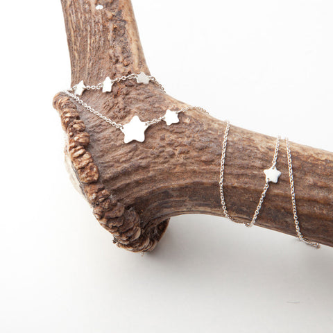 alice eden Jewellery jewelry delicate silver long star charm necklace