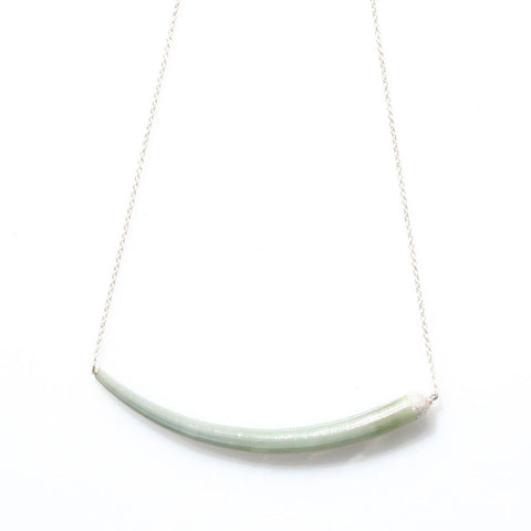 alice eden jewellery jewelry silver swing tusk shell necklace