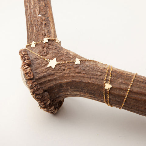 alice eden jewellery jewelry delicate gold filled long star charm necklace