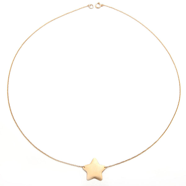 alice eden jewellery jewelry large gold filled star pendant necklace