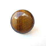 alice eden power ring large tigers eye silver modernist ring