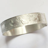 alice eden vintage silver christening bangle bracelet keepsake child baby baptism