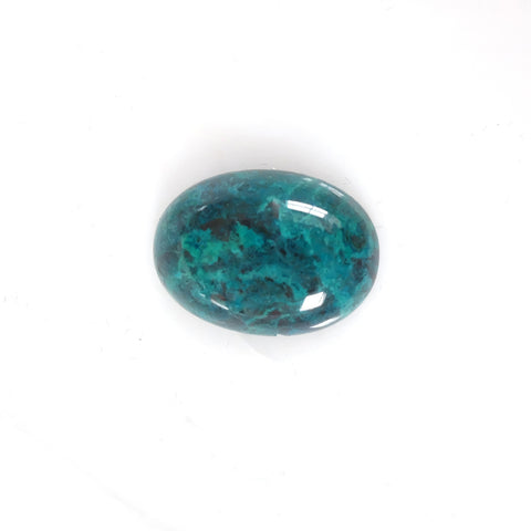 Chrysocolla Blue Oval Gemstone for Bespoke Ring