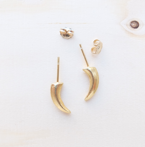 Fox Claw Stud Earrings