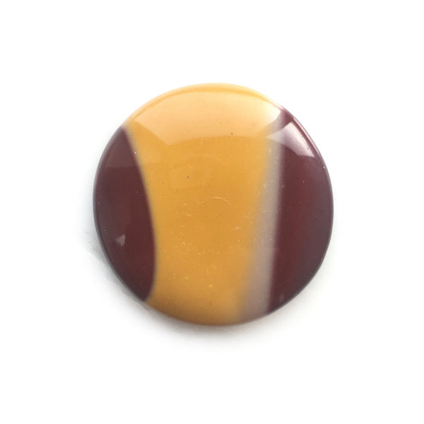 Mookaite Round Striped Gemstone for Bespoke Ring
