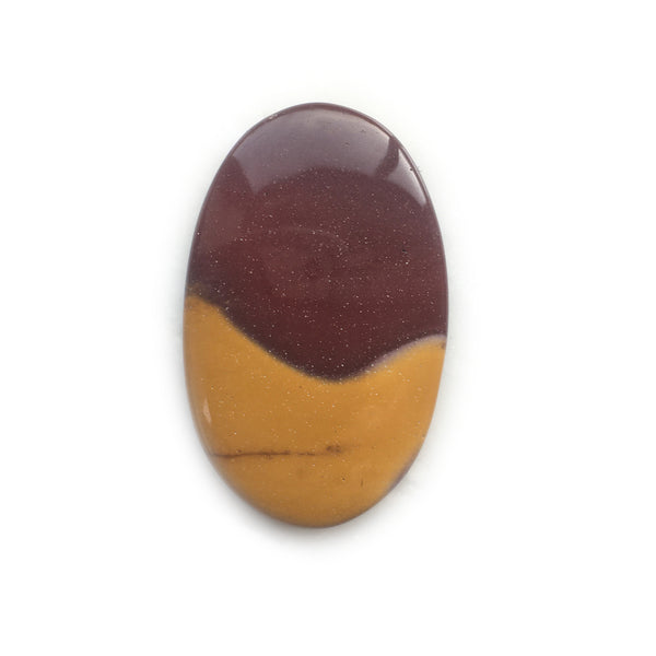 Mookaite Banded Oval Striped Gemstone for Bespoke Ring