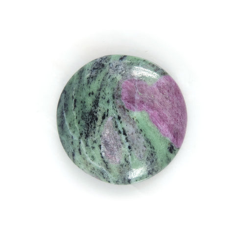 Ruby Fuschite Round Gemstone