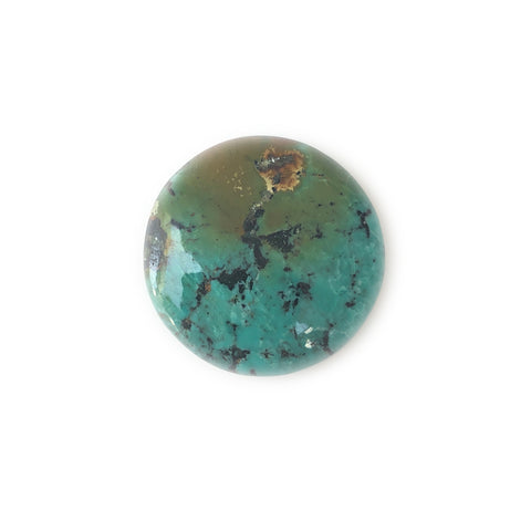 Tibetan Turquoise Round Gemstone for Bespoke Ring