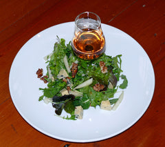 whisky and rocket salad