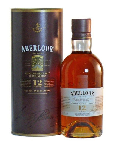 Aberlour 12 yo Double Cask Speyside Single Malt Scotch Whisky
