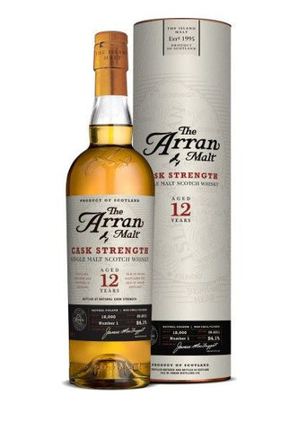 Arran 12 yo Cask Strength Whisky