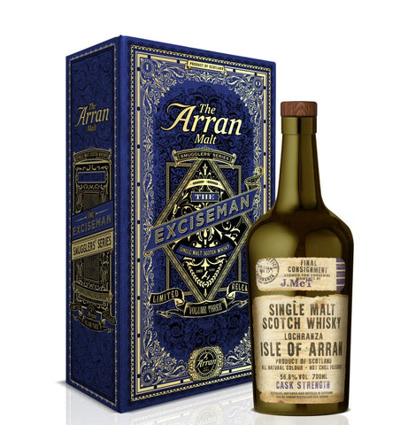 "Arran ""Smugglers"" Volume 3 "" The Excise Man"" limited edition Scotch single malt"
