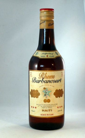 Barbancourt 4 year old Rum