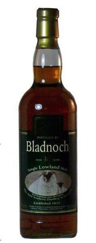 Bladnoch 12 year Sherry oak single malt whisky 46%