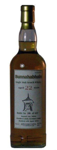 Bunnahabhain 22 years Scotch whisky