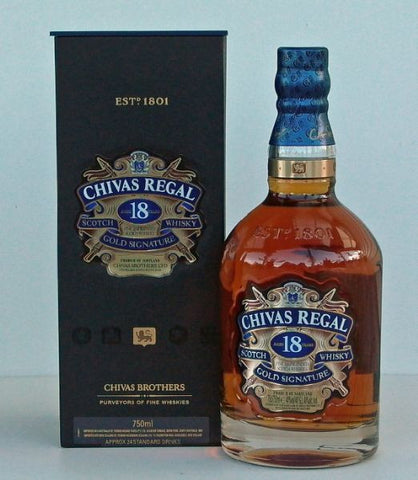 Chivas Regal 18yo Blended Scotch Whisky