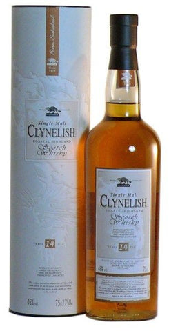 clynelish 14 year old whisky