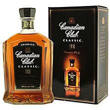 Canadian Club Classic 12 year Whisky