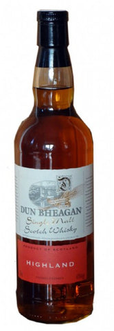Highland  single malt whisky by Dun Bheagan