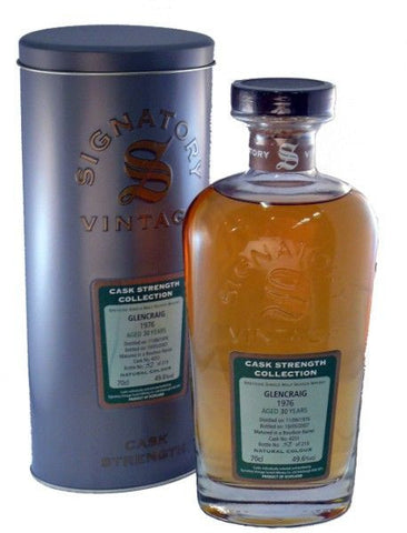 Glencraig 30 year old whisky
