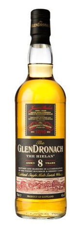 Glendronach 'The Hielan' 8 year old Scotch Whisky