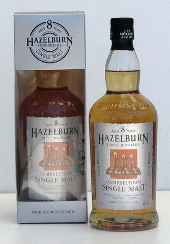 Hazelburn 12 year old single malt whisky