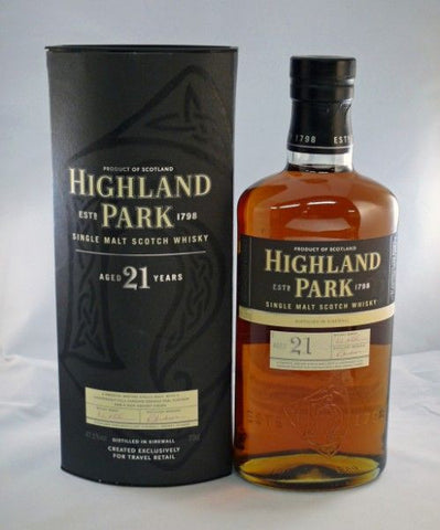 Highland Park 21 yo whisky