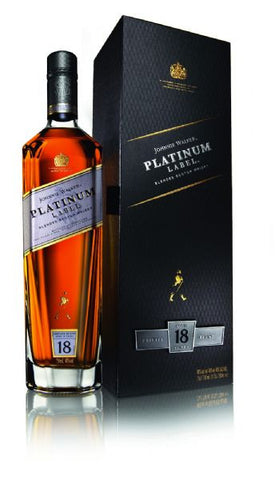 Johnnie Walker Platinum 18 yo Scotch Whisky