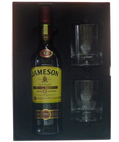 Jameson 12 year old Irish Whiskey gift pack