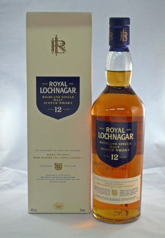 Royal Lochnagar 12 yo whisky