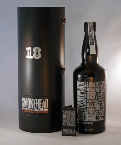 Smokehead 18 yo Extra Black Islay Scotch Whisky