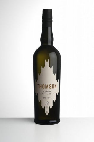 Thomson 18 yo New Zealand Single Malt Whisky