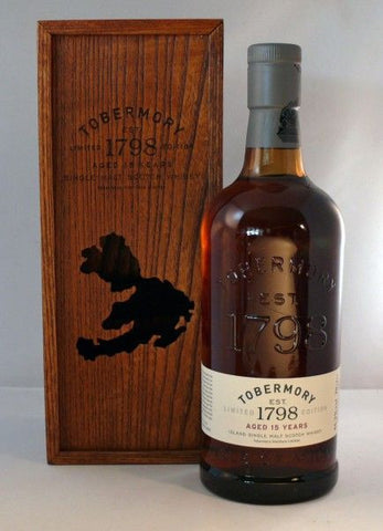 Tobermory 15 year old whisky