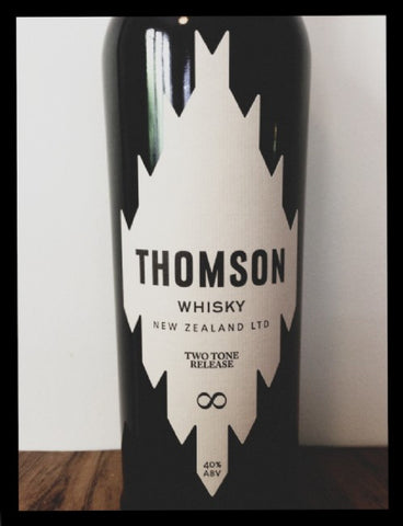 Thomson two tone Blended New Zealand Whisky
