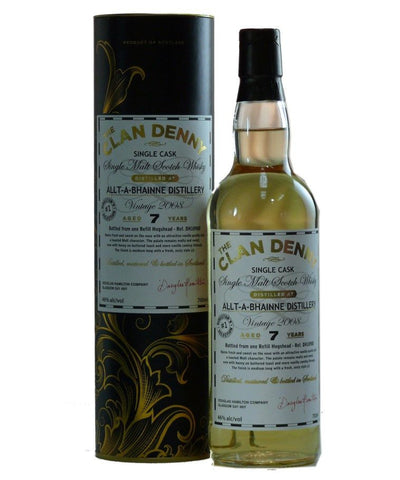 Allt-A-Bhaine Single Malt Scotch Whisky by Clan Denny