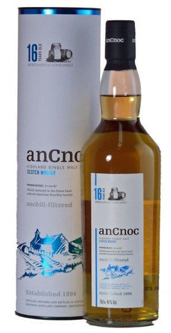 An Cnoc 16 years single malt whisky