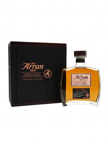 Arran 21st Anniversary Bottling Limited Release