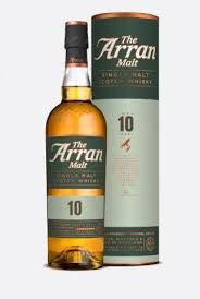 Arran 10 year single malt whisky