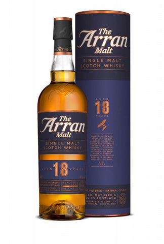 Arran 18 year Single Malt Scotch Whisky - New Release