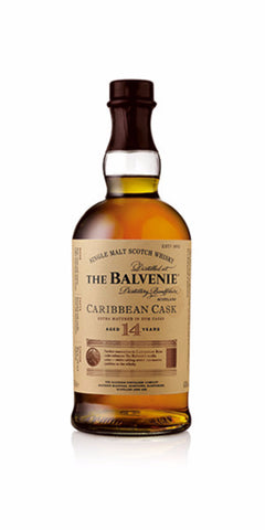 Balvenie 14 yo Caribbean cask single malt whisky
