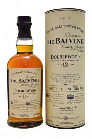 Balvenie 12 yo Double Wood Scotch Whisky