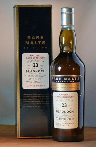 Bladnoch 23 yo single malt Rare Malts