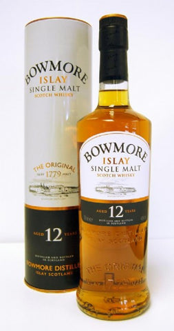 Bowmore 12 year old Islay Scotch whisky