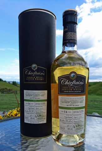 Bowmore 14 year old Single Malt Scotch Whisky by Chieftain's