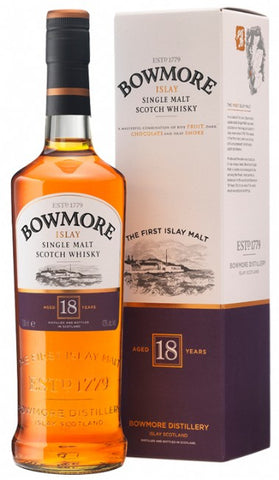 Bowmore 18 year old Islay Scotch whisky