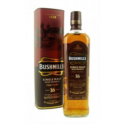 Bushmill's 16 yo Irish Single Malt Whiskey