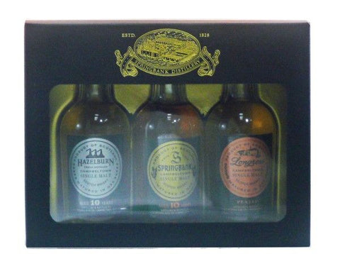 Campbeltown collection  Scotch Whisky
